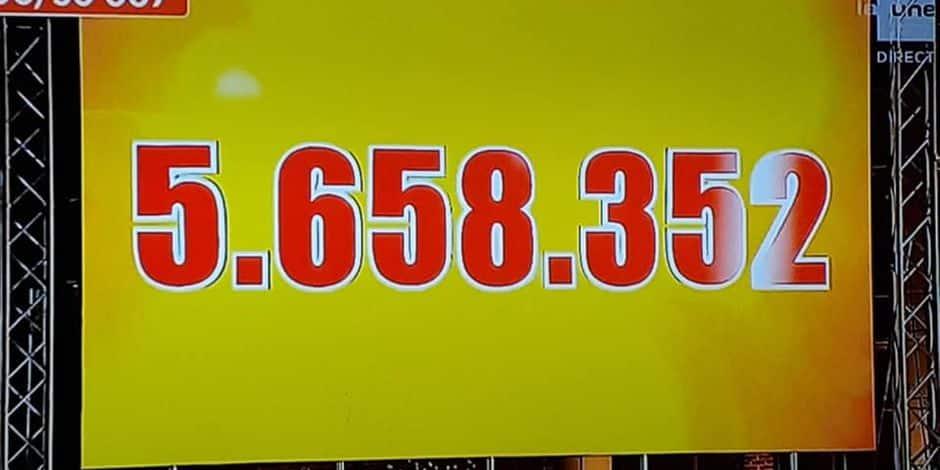 Plus de 5 millions d'euros pour Viva for Life !
