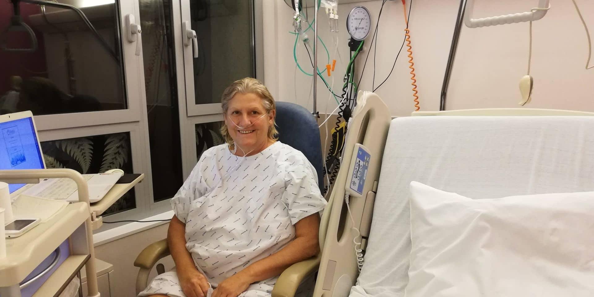 Libramont: Véronique s'attendait à souffrir à l'hôpital. Ce fut loin d'être le cas!