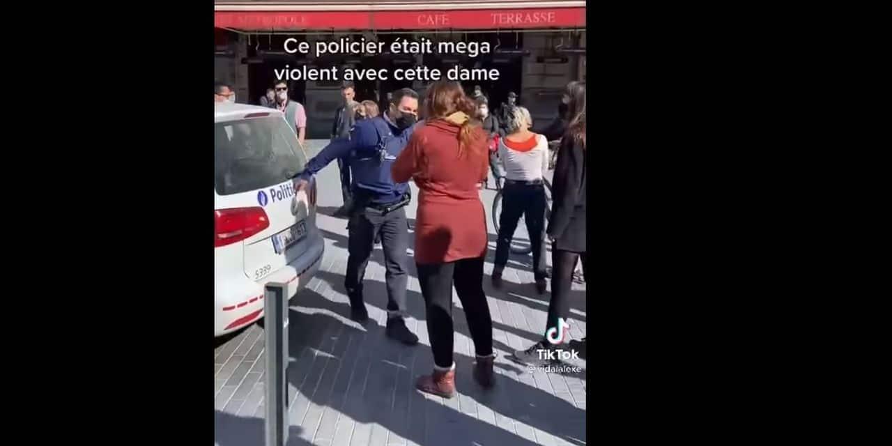"""La police dément une intervention trop musclée place De Brouckère: """"C'était légitime et justifié"""""""