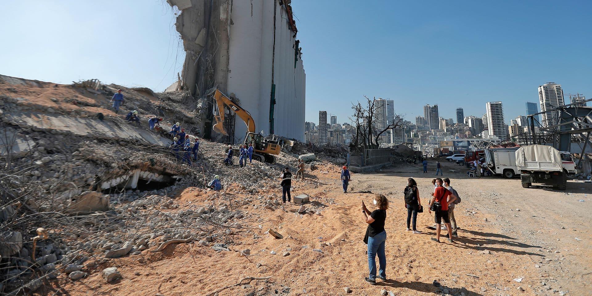 Explosion à Beyrouth: plus de 60 personnes toujours portées disparues