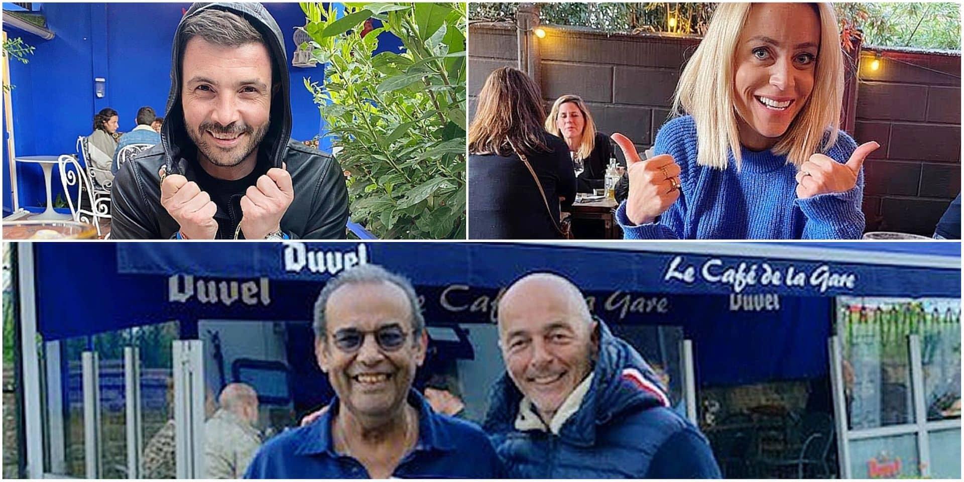 Emilie Dupuis, Marc Delire, Michaël Miraglia, ... : nos personnalités belges ont aussi profité de la réouverture des terrasses