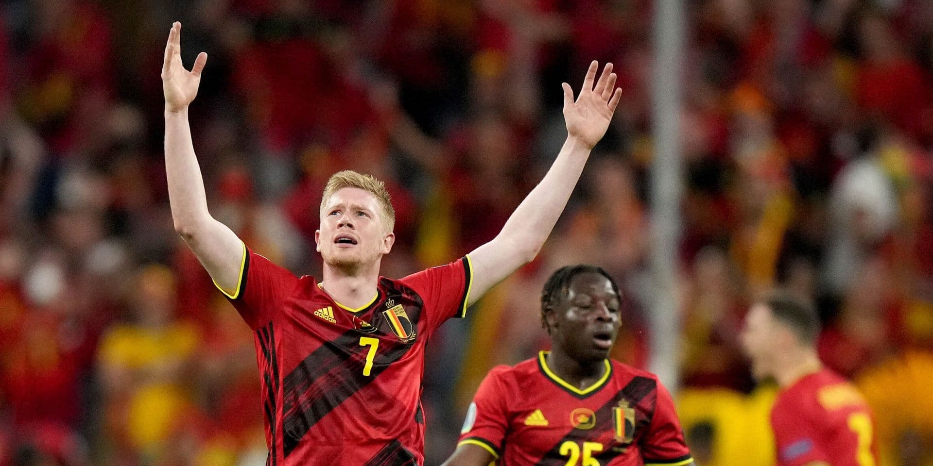 """De Bruyne: """"J'ai joué 90 minutes avec une déchirure des ligaments"""""""