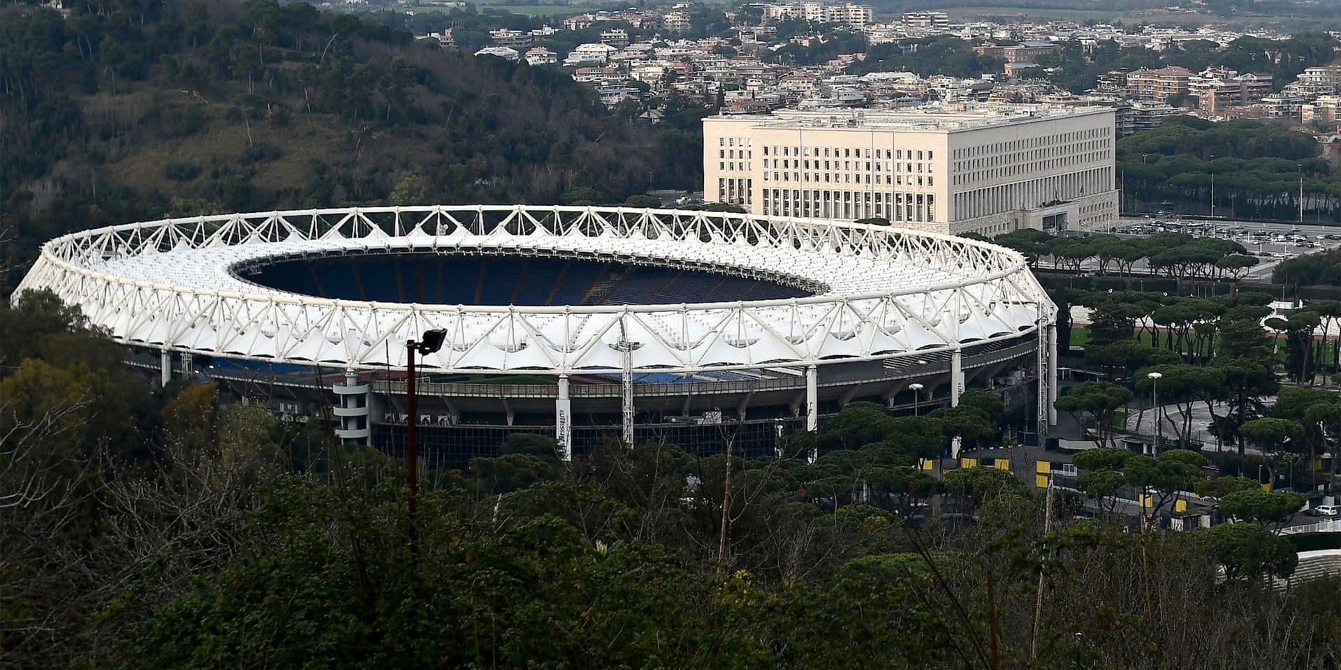 """Euro 2020: Rome """"pleinement confirmée"""" comme ville hôte de l'Euro cet été"""