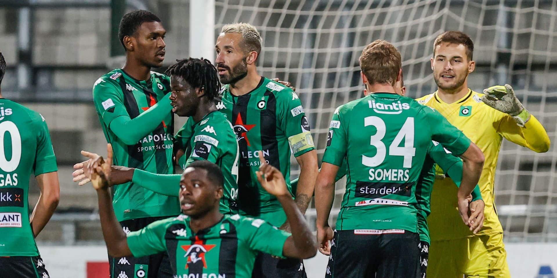Le Cercle s'impose à Eupen, OHL bat Zulte Waregem, nul blanc entre Saint-Trond et Courtrai