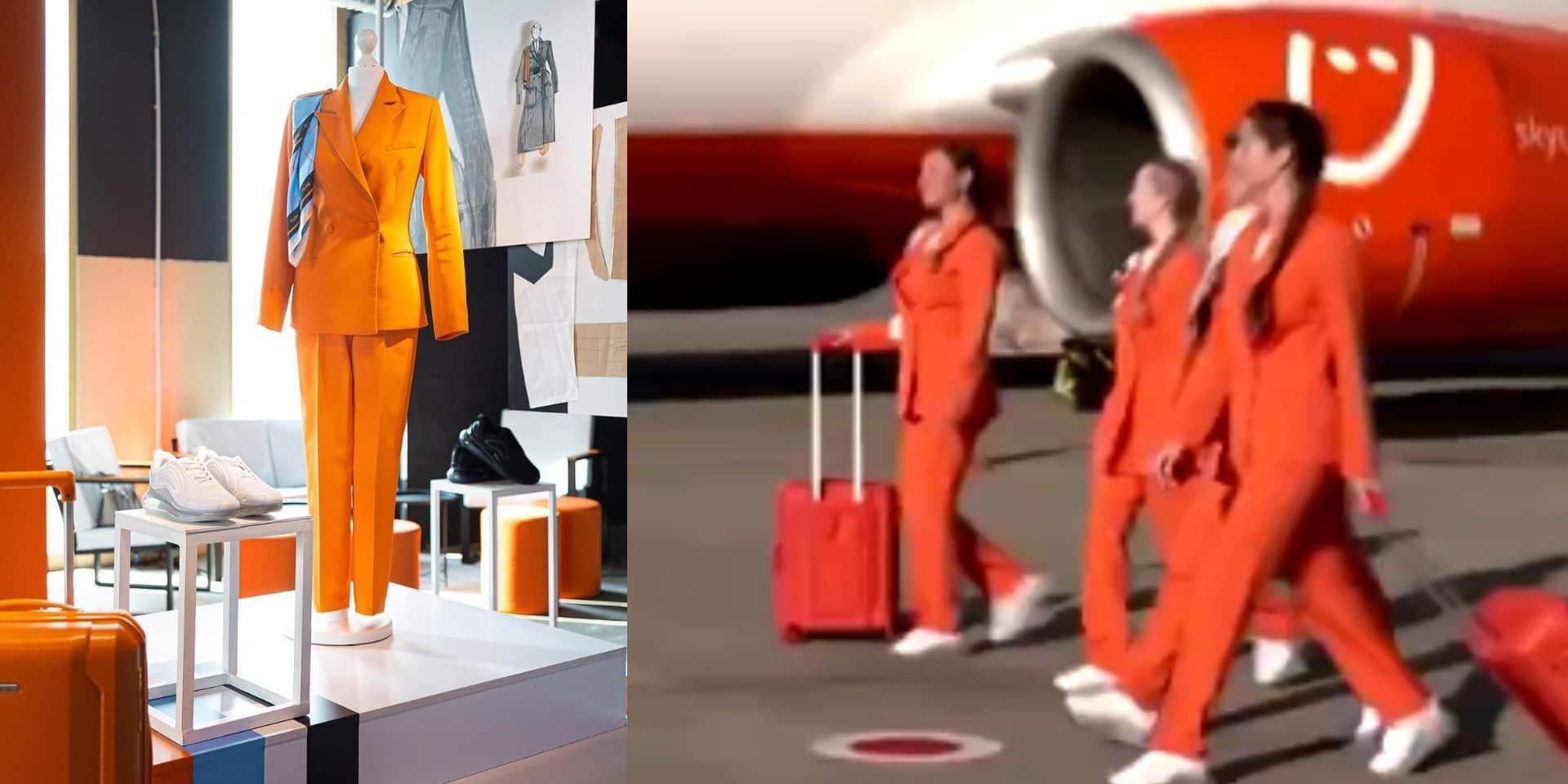 Plus de jupe et de talons: une compagnie aérienne remplace l'uniforme de ses hôtesses par un pantalon et des baskets