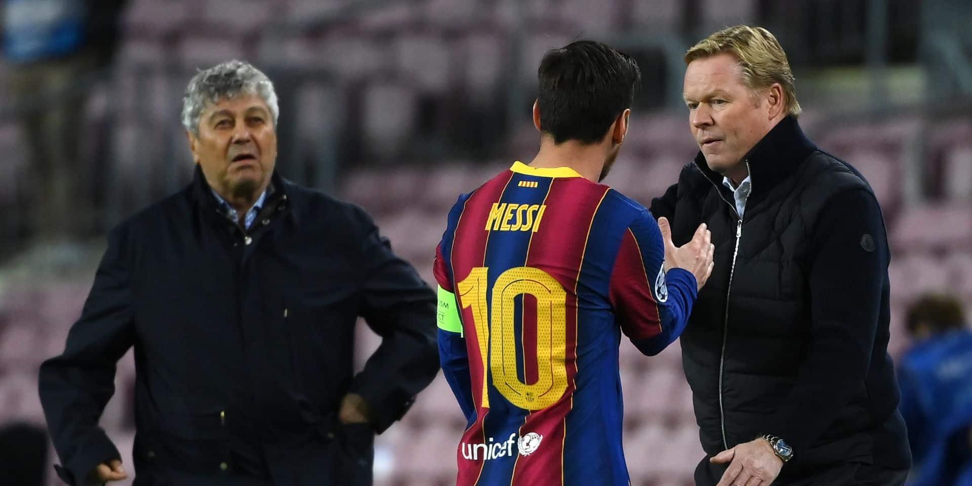 Les rumeurs de départ de Messi, sa relation avec Griezmann: Ronald Koeman tente d'éteindre l'incendie au Barça