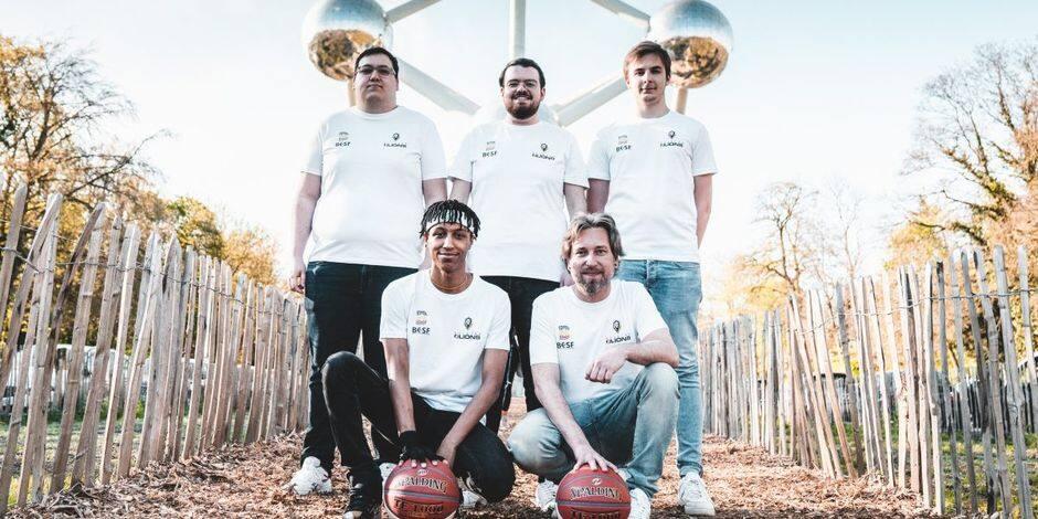 Les Belgian eLions vont participer au FIBA Esports Open pour la première fois