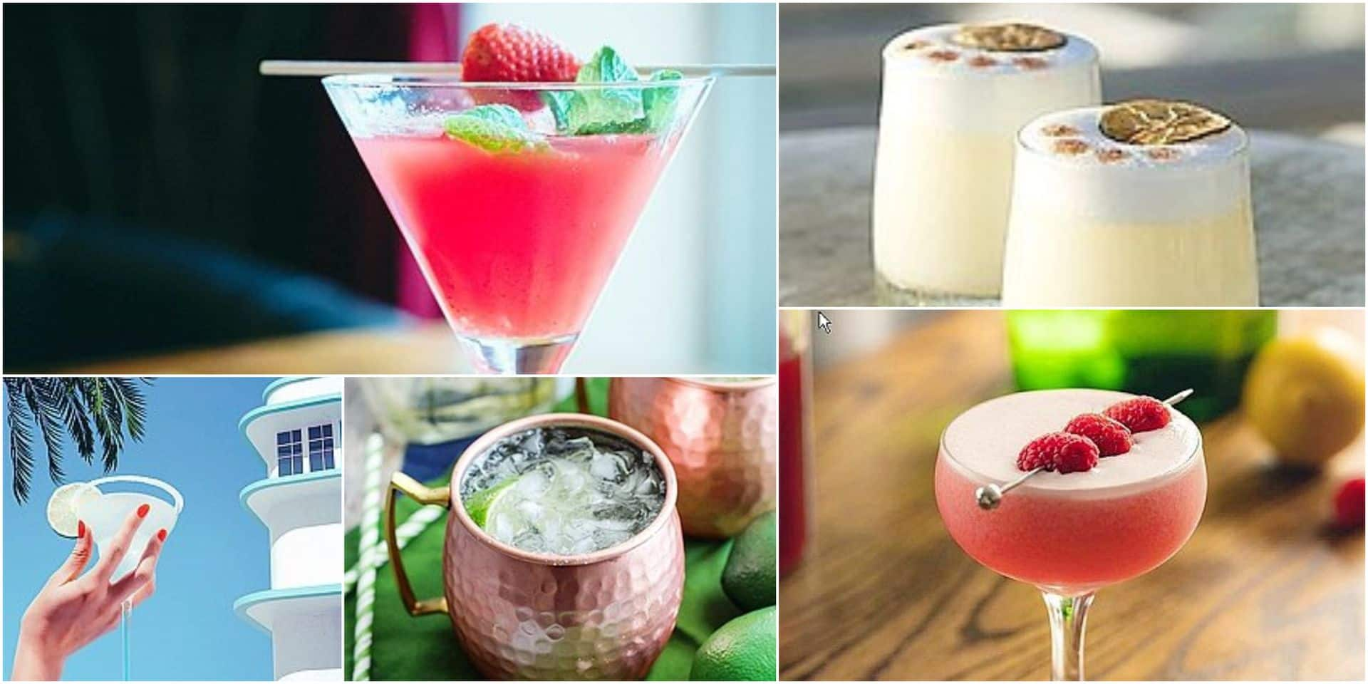 Moscow Mule, Pisco Sour,... : 5 Cocktails qui vont rythmer votre été