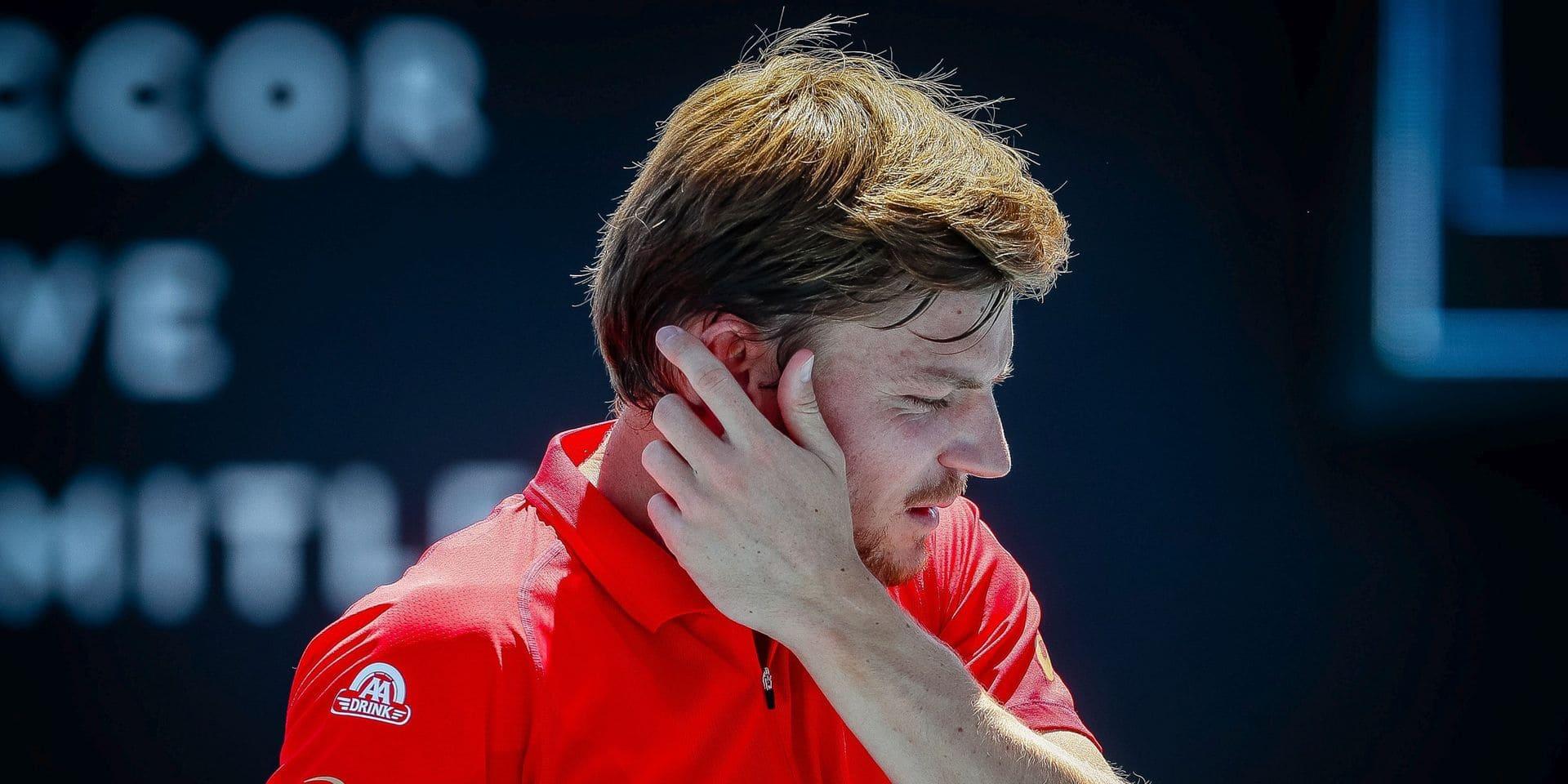 ATP Cincinnati : David Goffin éliminé en 8e de finale