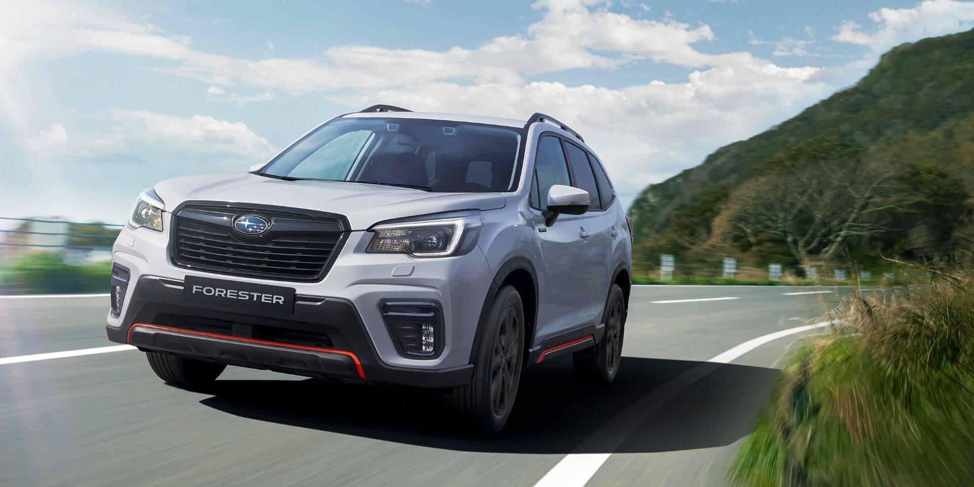 Le Subaru Forester s'offre une finition sportive