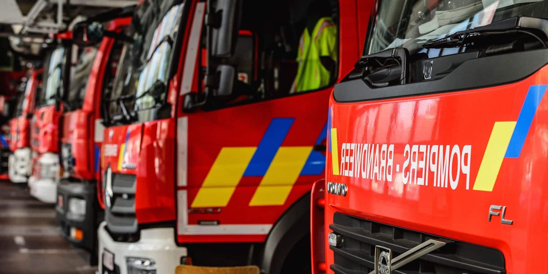 Intempéries: les pompiers mobilisés en Brabant wallon en raison de fortes pluies