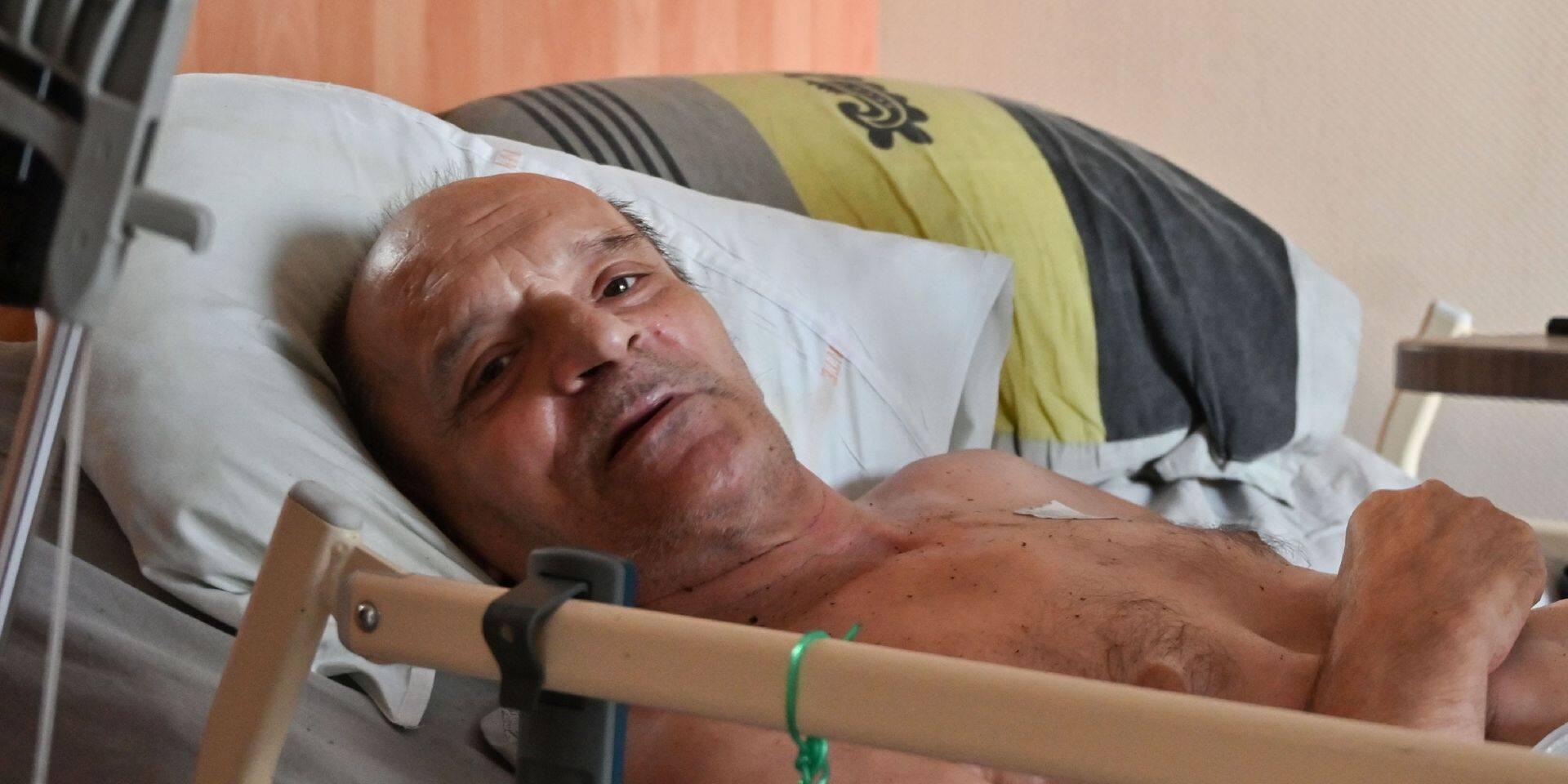"""Alain Cocq veut à nouveau se laisser mourir: """"Je vais aller jusqu'au bout"""""""