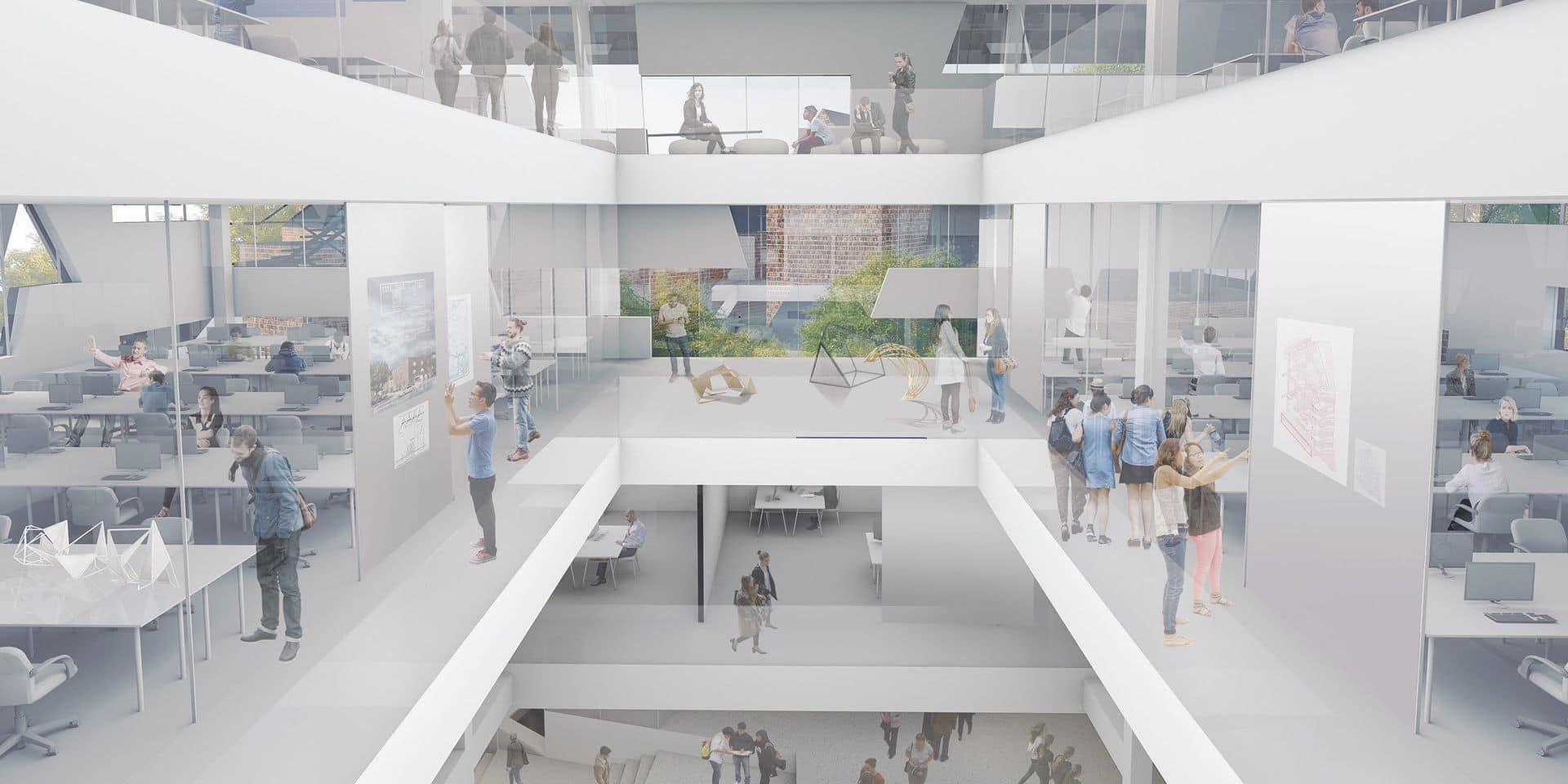 Nouvelle faculté d'architecture: seconde session pour l'UMons