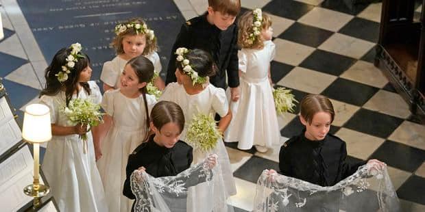 L'adorable geste du prince George avant le mariage de Meghan et Harry - La DH