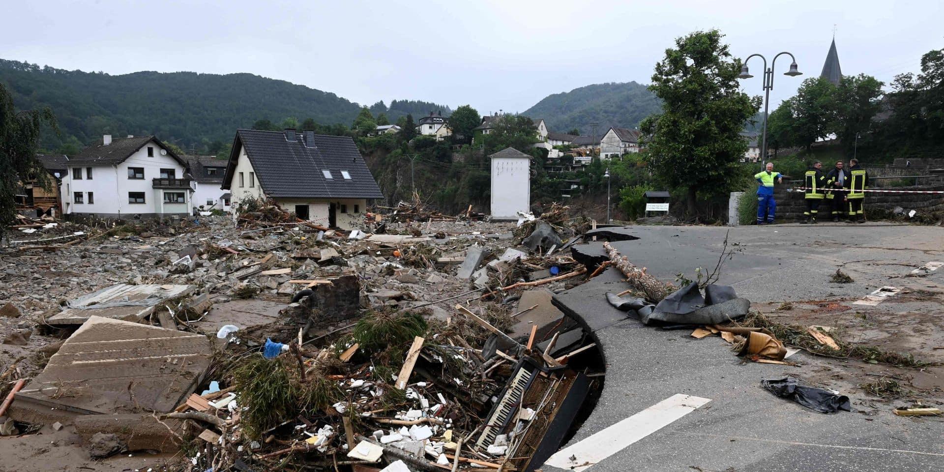 Allemagne: déjà 90 décès confirmés dans la région d'Ahrweiler, 133 au total