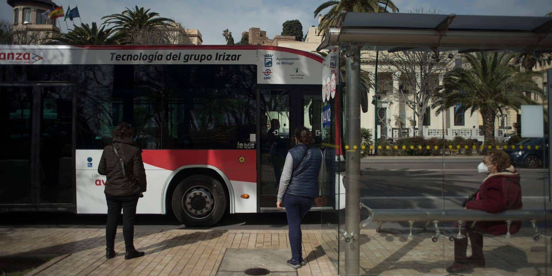 Première en Europe: un bus sans conducteur dans les rues de Malaga (PHOTOS + VIDEO)