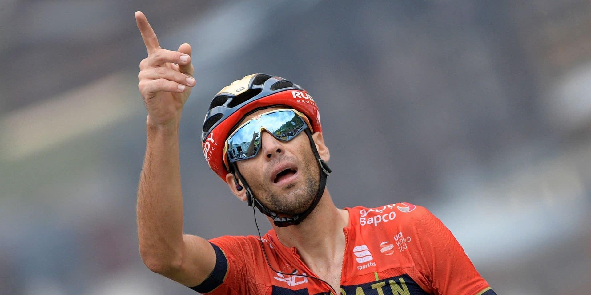 Mondiaux de cyclisme: Vincenzo Nibali dans une sélection italienne élargie