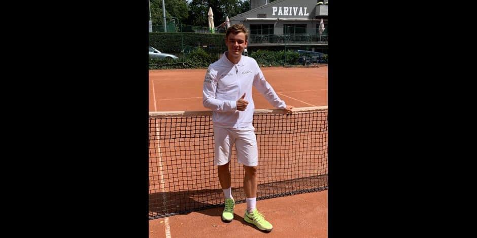 """Simon Beaupain remporte une finale 100 % liégeoise à Embourg : """"Une belle semaine"""""""