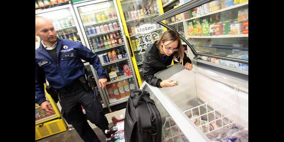 Tournai: une vaste opération dans les magasins de jour et tabac shops