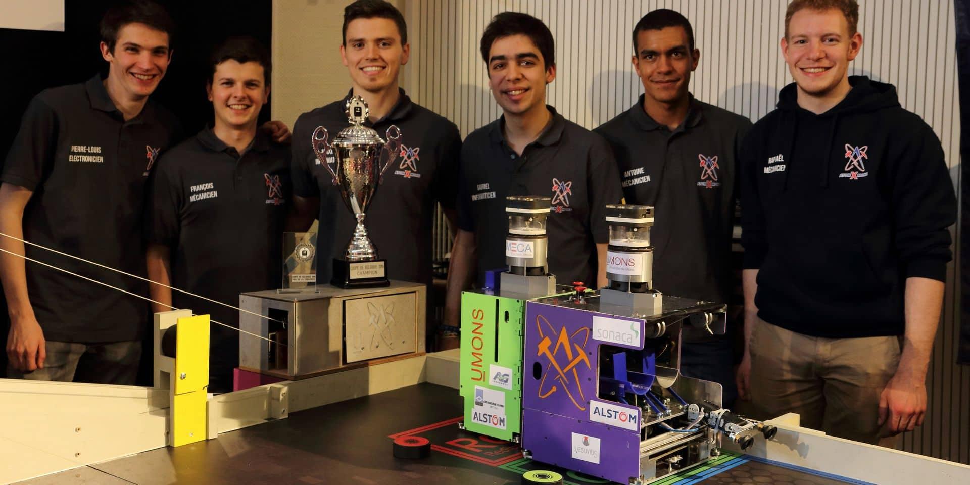L'UMoons défendra son titre européen de robotique