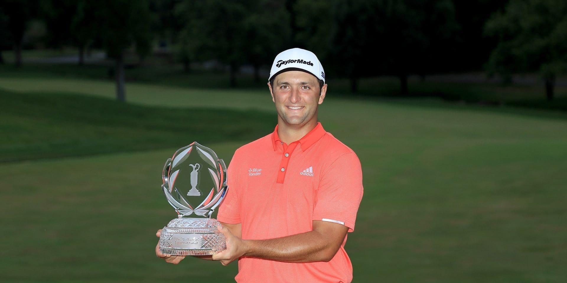 L'Espagnol Jon Rahm nouveau N.1 mondial de golf après sa victoire au Memorial