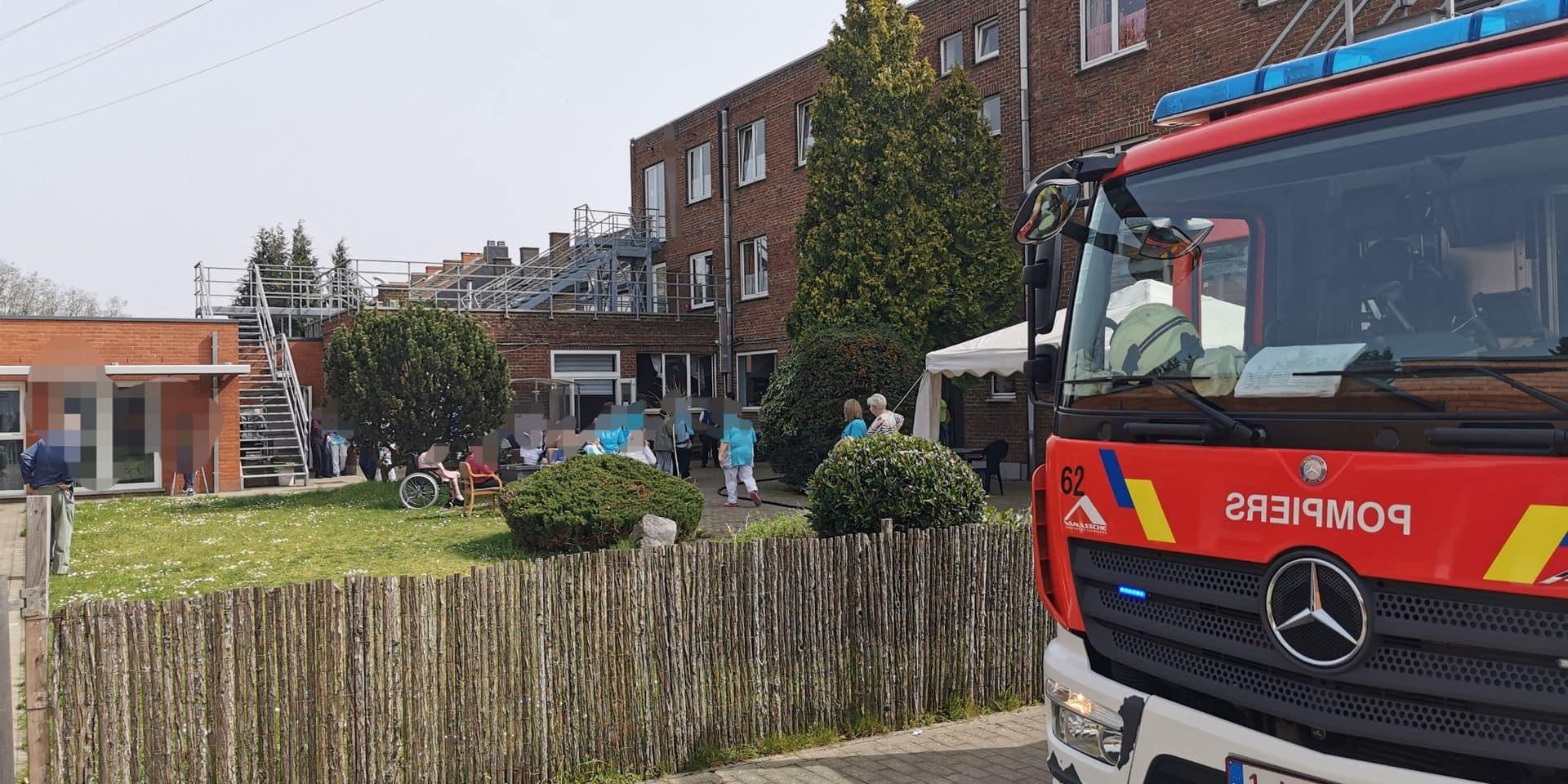 Début d'incendie à la résidence Nouvelle le Châtelet, une cinquantaine de seniors évacués