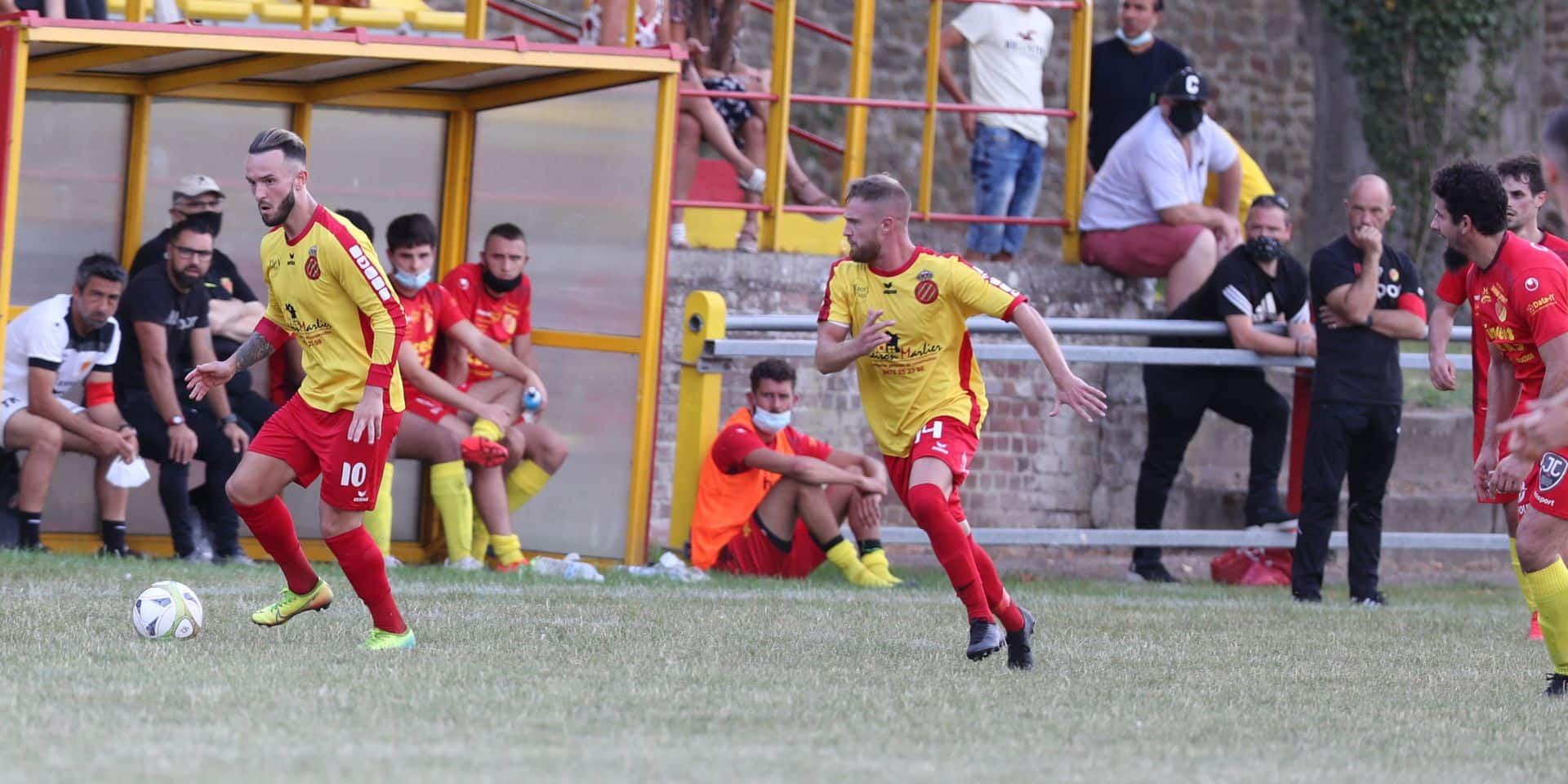 Beloeil domine le RFC Tournai (2-0) en amical