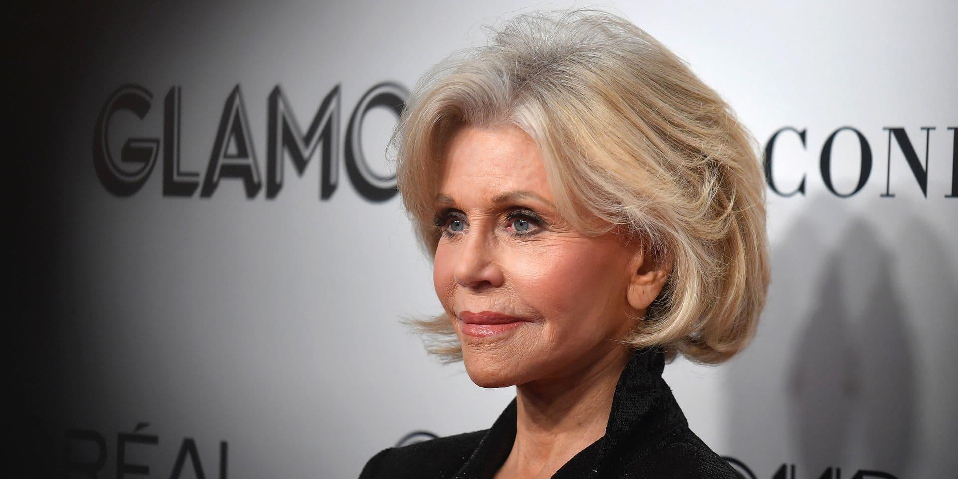 Jane Fonda s'offre un changement de look radical (PHOTOS)