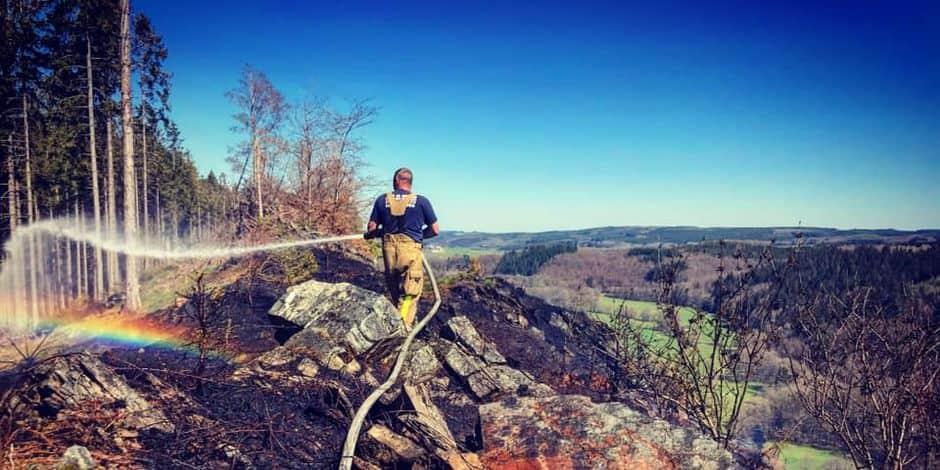 Feux de broussailles : journée chargée pour les pompiers