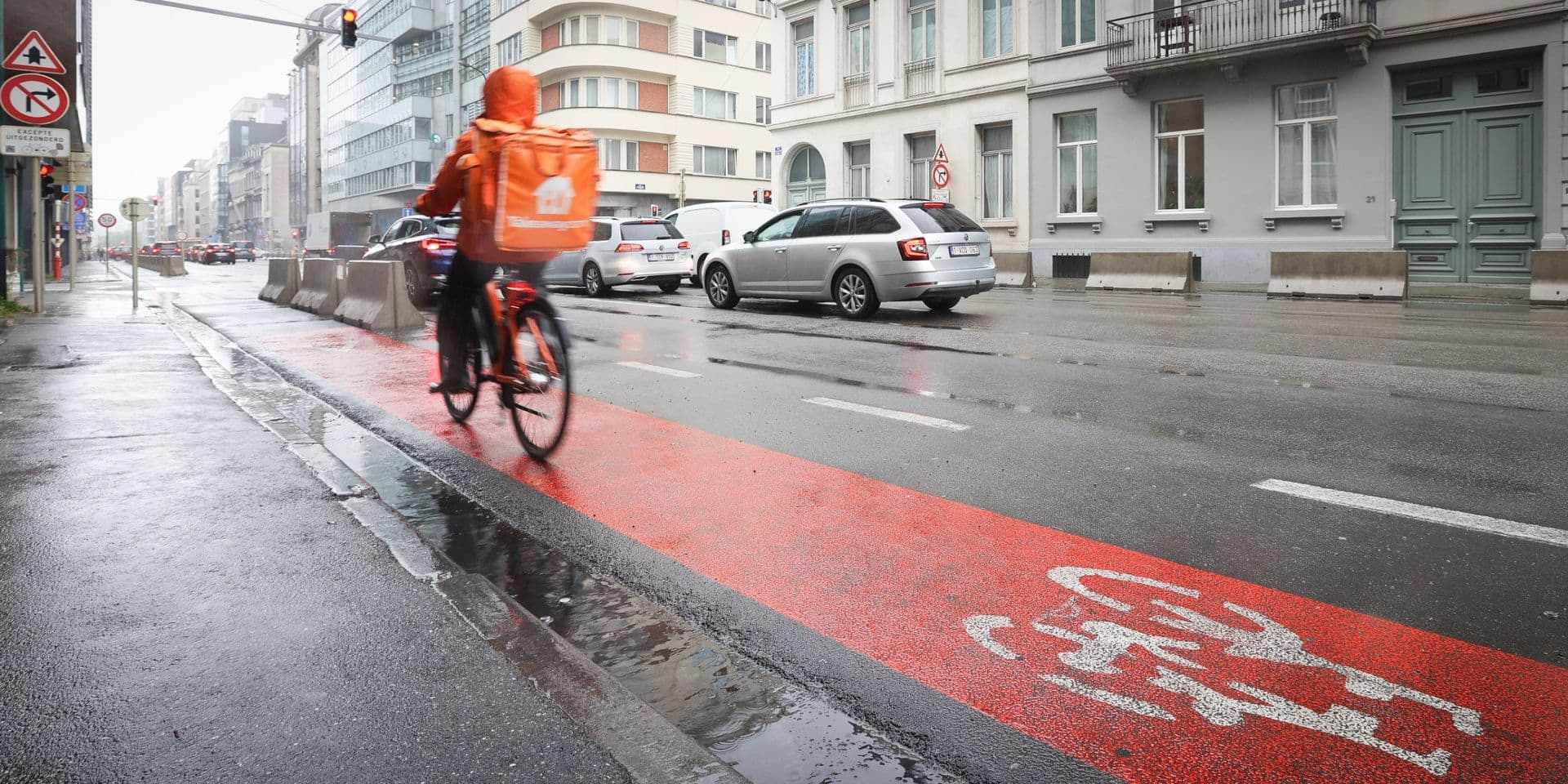 Bruxelles Mobilité va proposer une rue Belliard à trois bandes de circulation