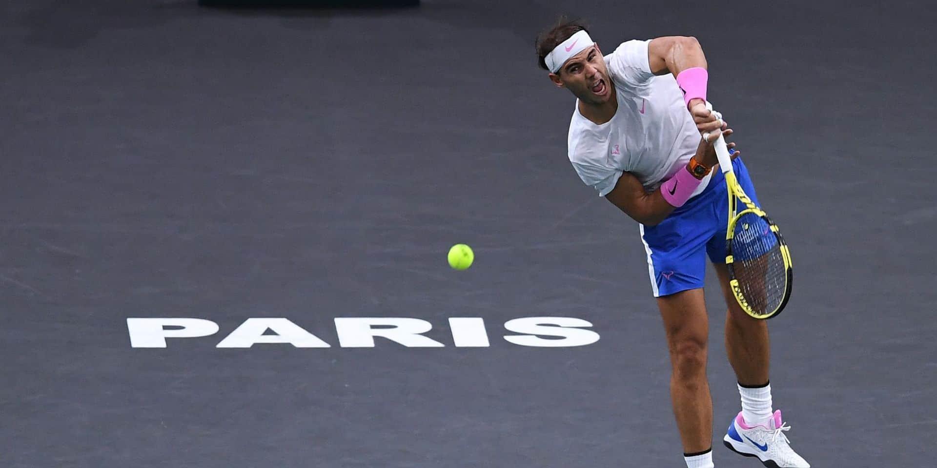 """Rafael Nadal veut gagner à Bercy: """"Je dois améliorer mon jeu pour briller sur cette surface"""""""