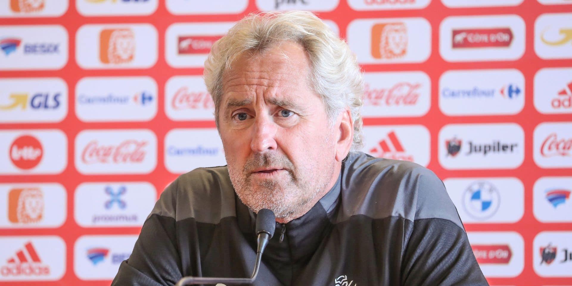 """Erik Hamrén, sélectionneur de l'Islande, avant d'affonter les Diables: """"La Belgique, c'est ce qui se fait de mieux"""""""