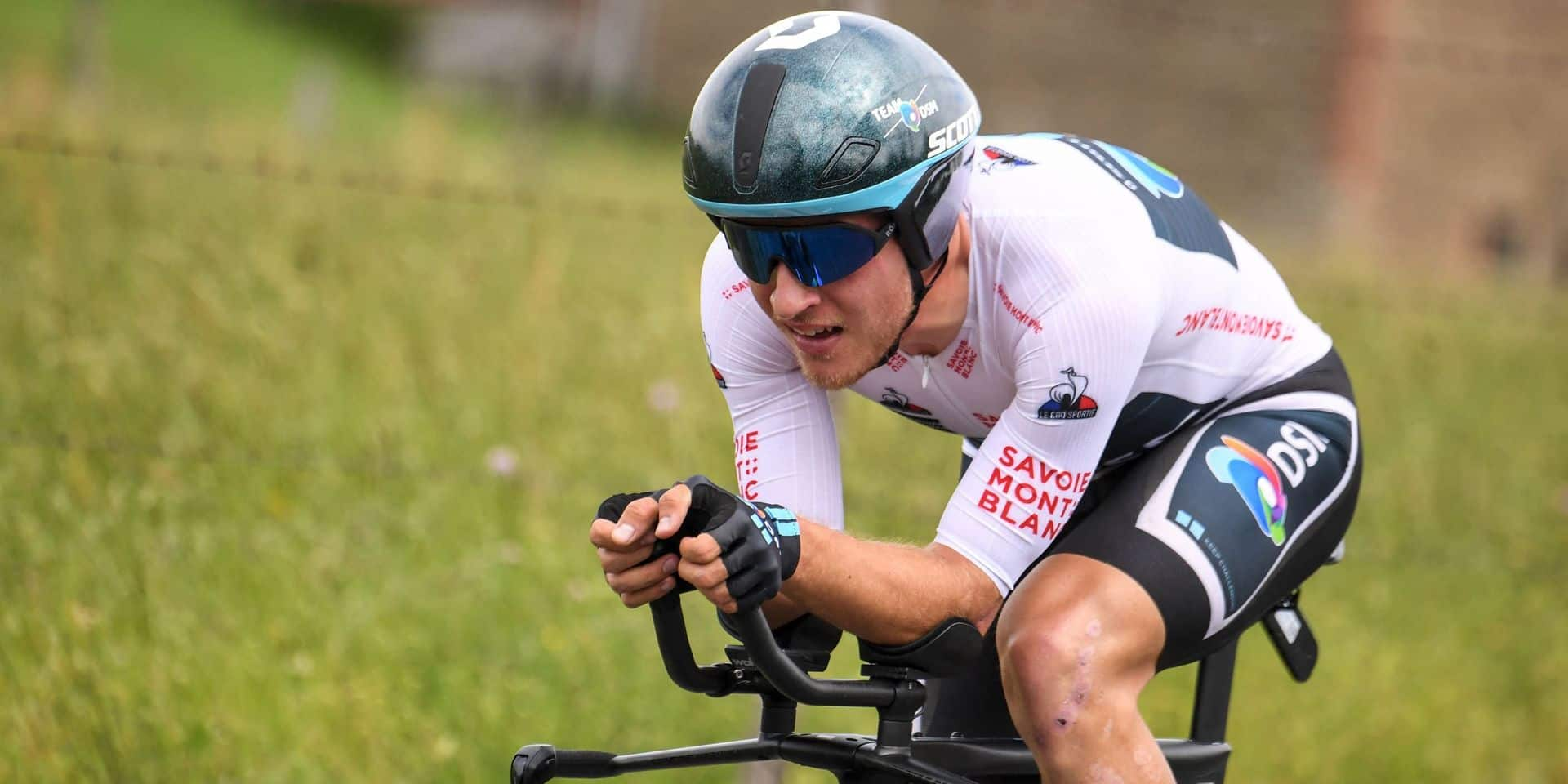 """Ilan Van Wilder, la bonne surprise belge lors du chrono du Dauphiné: """"J'avais un bon pressentiment"""""""