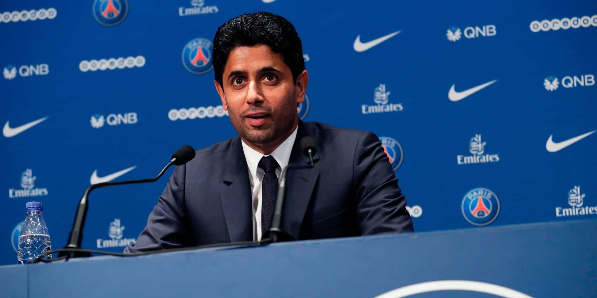 """Nasser Al-Khelaïfi : """"Sans le soutien de l'UEFA, la Super League ne résout pas les problèmes"""""""