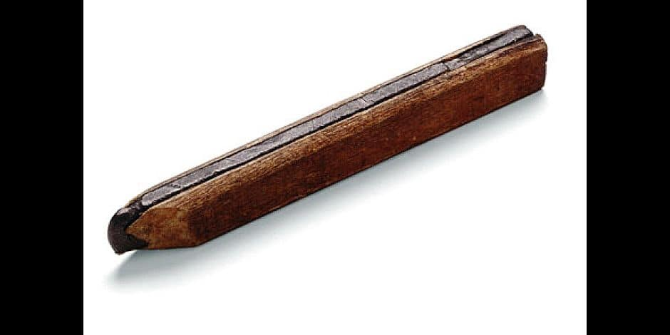 Nos objets ont une histoire : un blocus économique fait naître le crayon moderne!