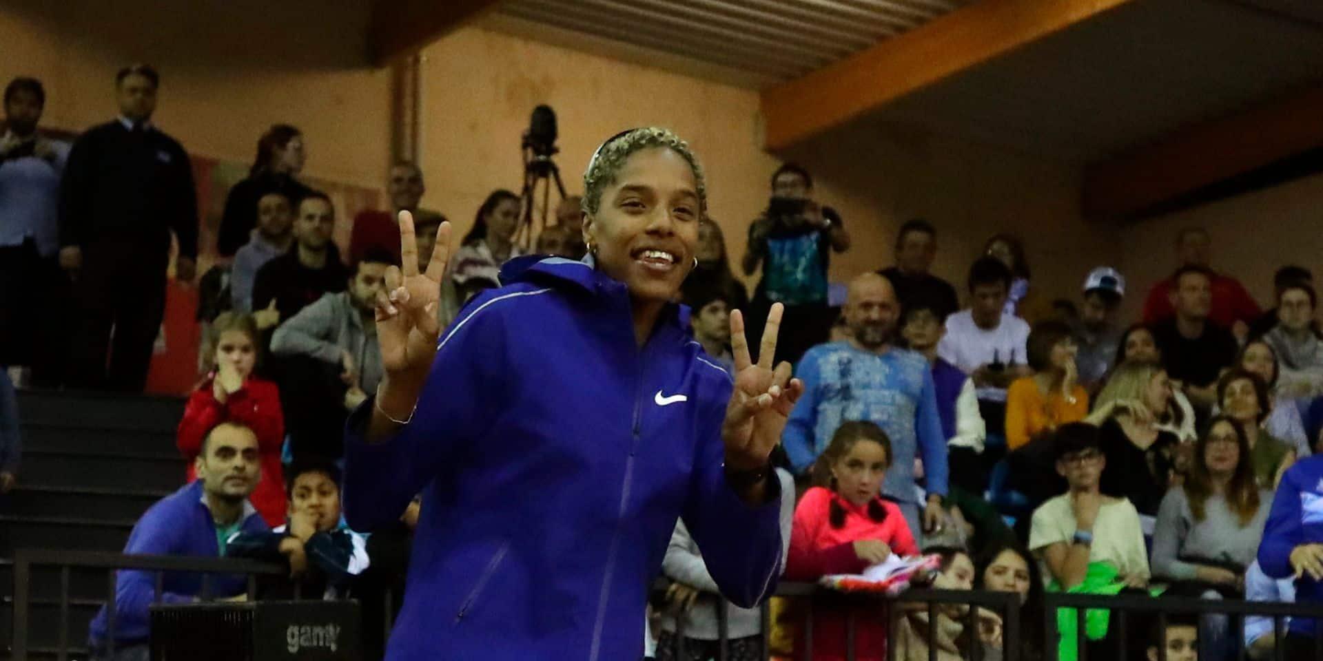 Athlétisme: Rojas s'envole à 15,43 m pour le nouveau record du monde en salle du triple saut