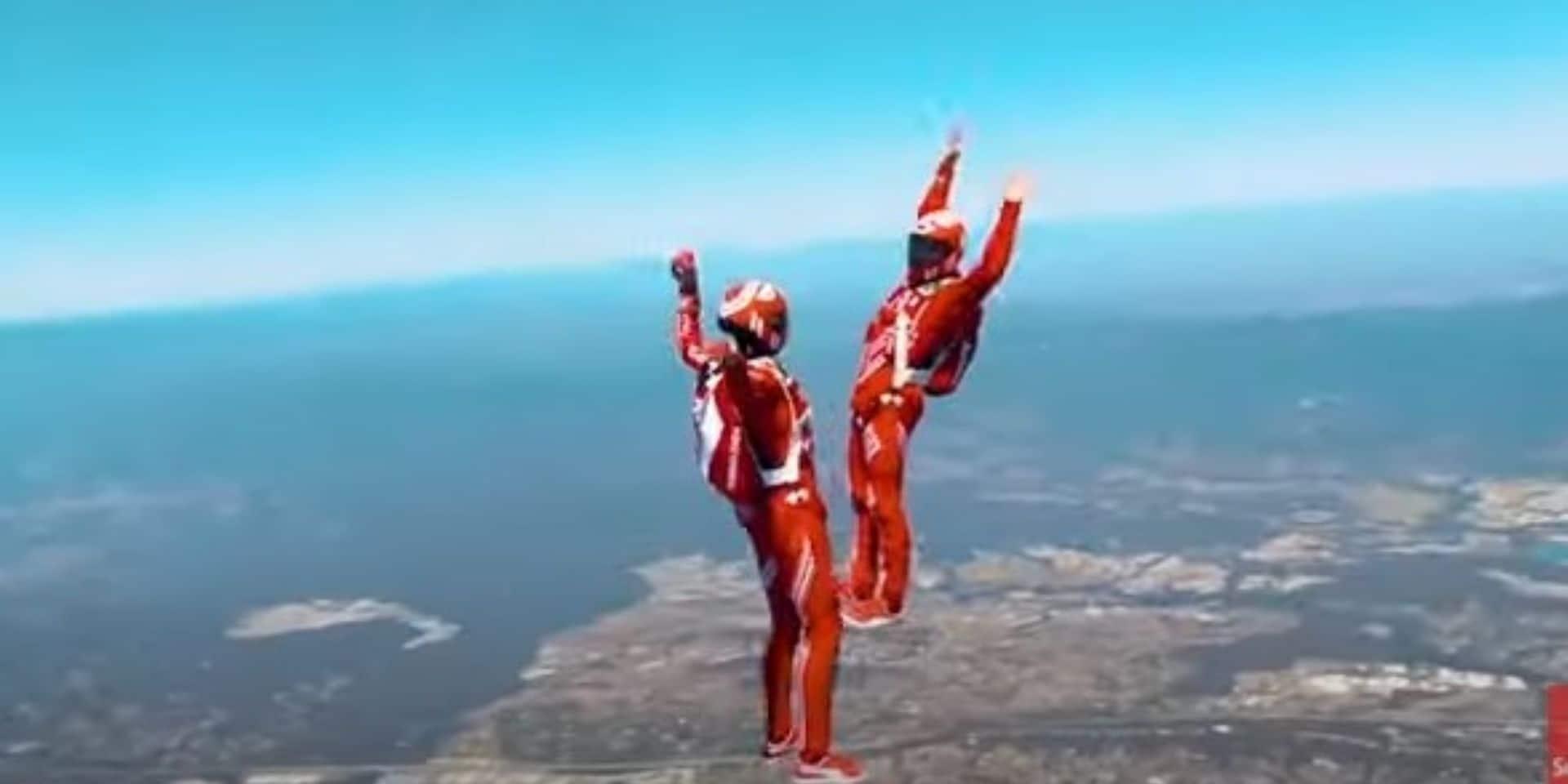Les champions du monde de parachutisme à Arlon ce samedi !