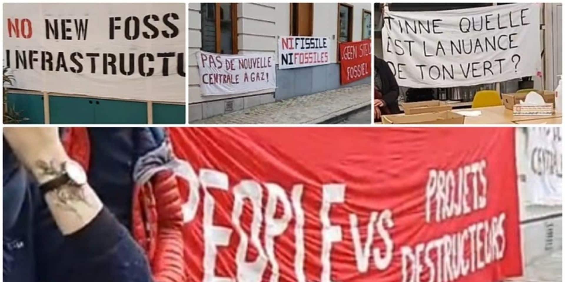 """Des associations occupent le siège d'Écolo-Groen à Bruxelles : """"Que le parti joigne le geste à la parole"""""""