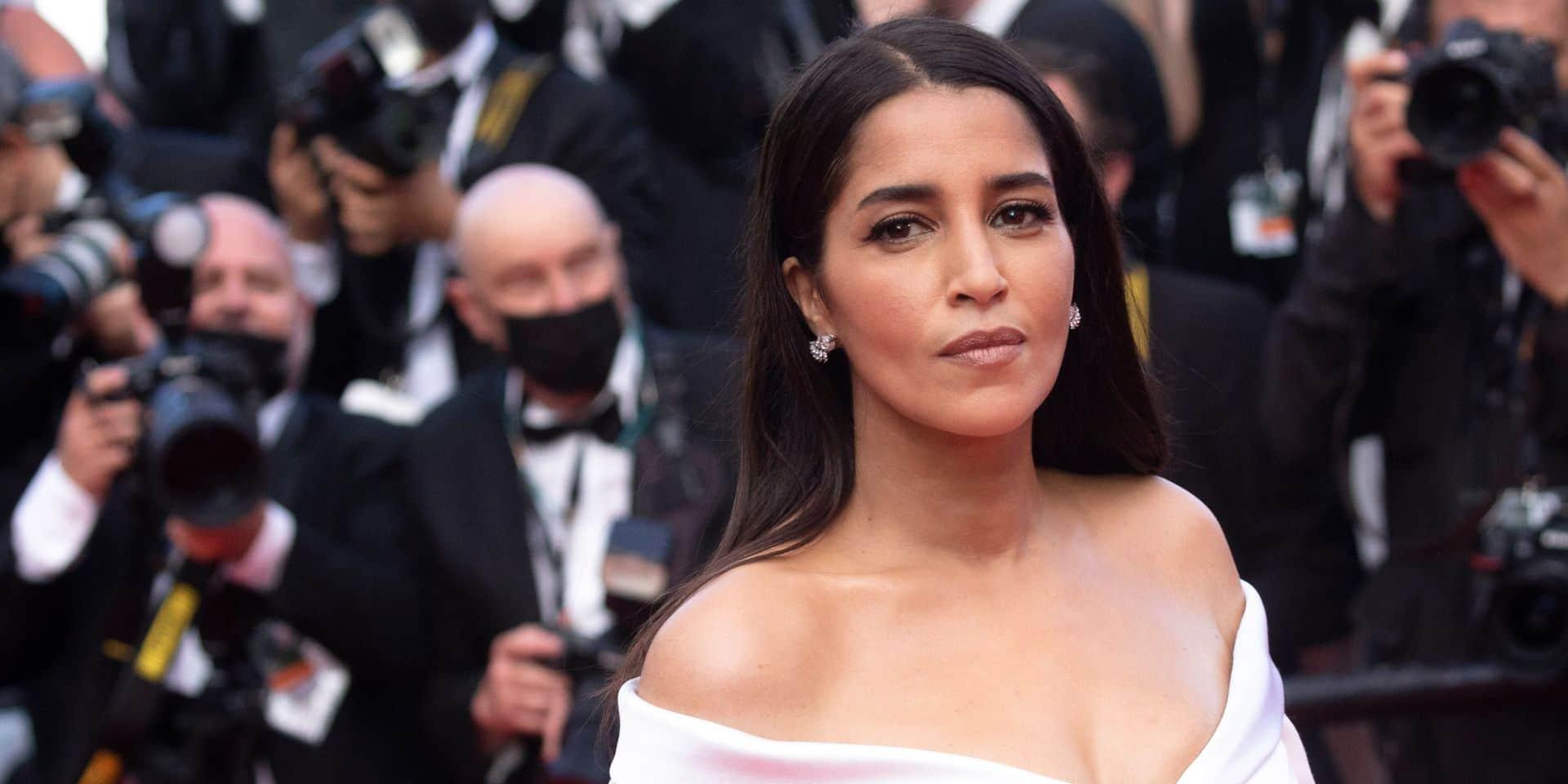 """Leïla Bekhti en clôture de la compétition au Festival de Cannes: """"Se battre pour son couple, aujourd'hui, ça, c'est rock'n roll"""""""