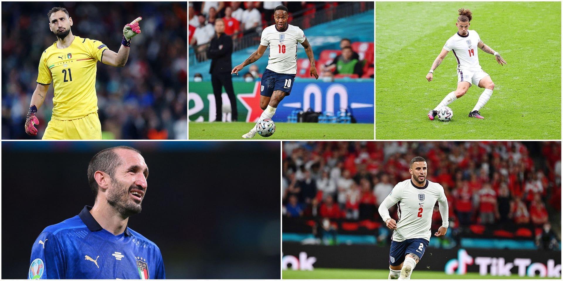 Le onze idéal de Clément Tainmont pour la finale de l'Euro 2020: 7 joueurs d'Italie, 4 d'Angleterre