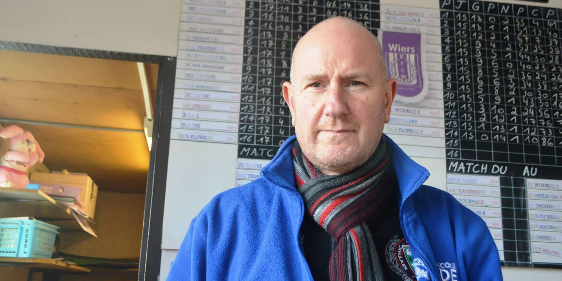 Football : décès de Jean-Louis Nève, président du RFC Wiers