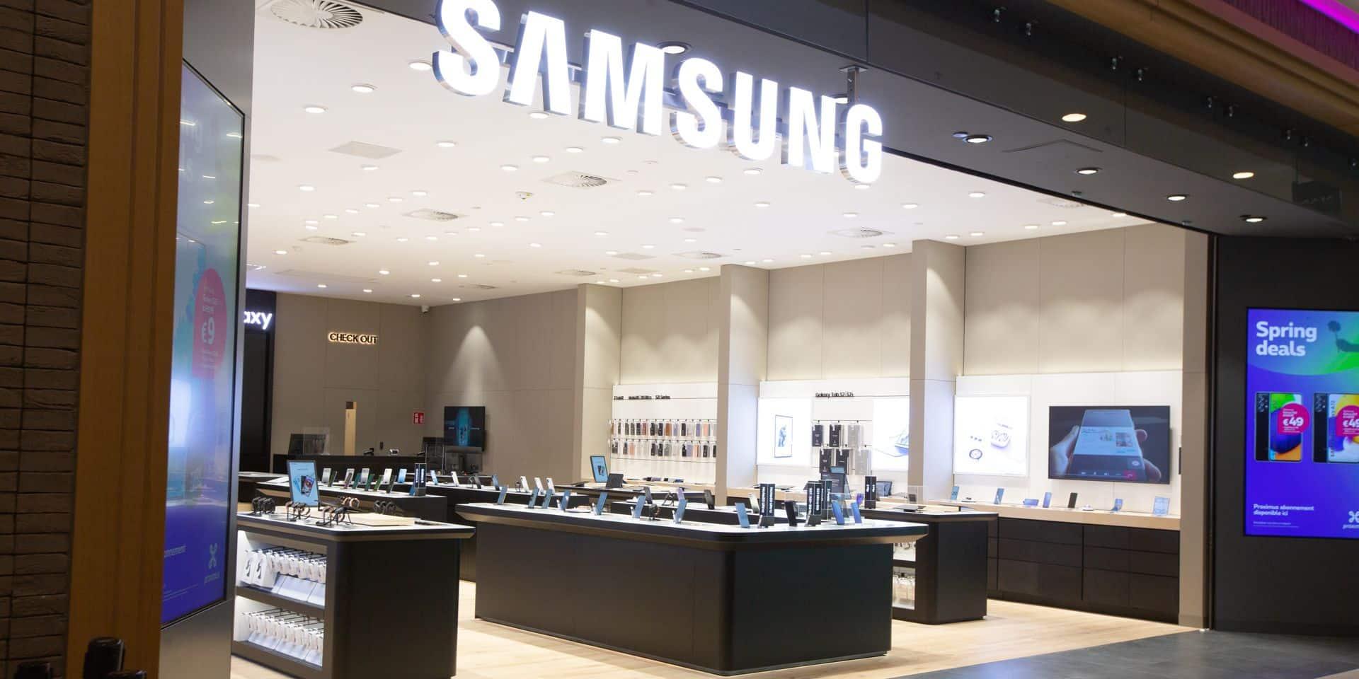 Samsung implante son premier Expérience store wallon à Rive Gauche
