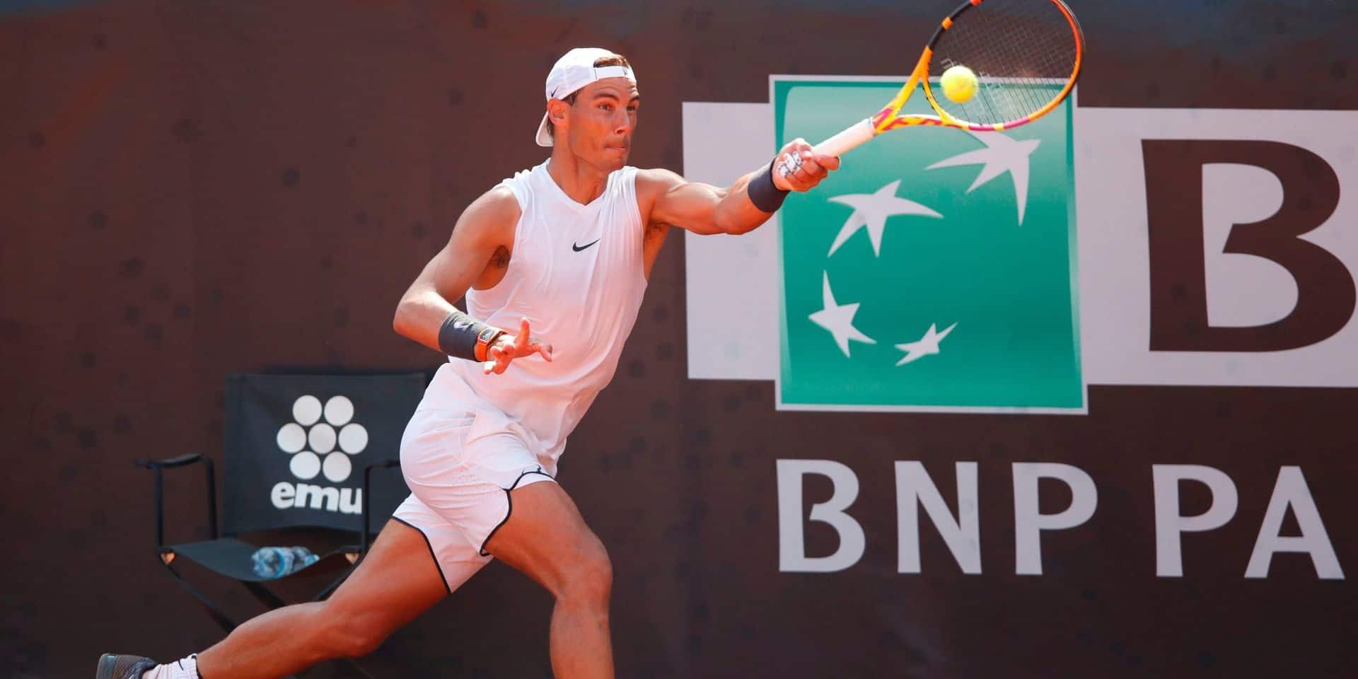 Rafael Nadal prudent par rapport à la présence du public