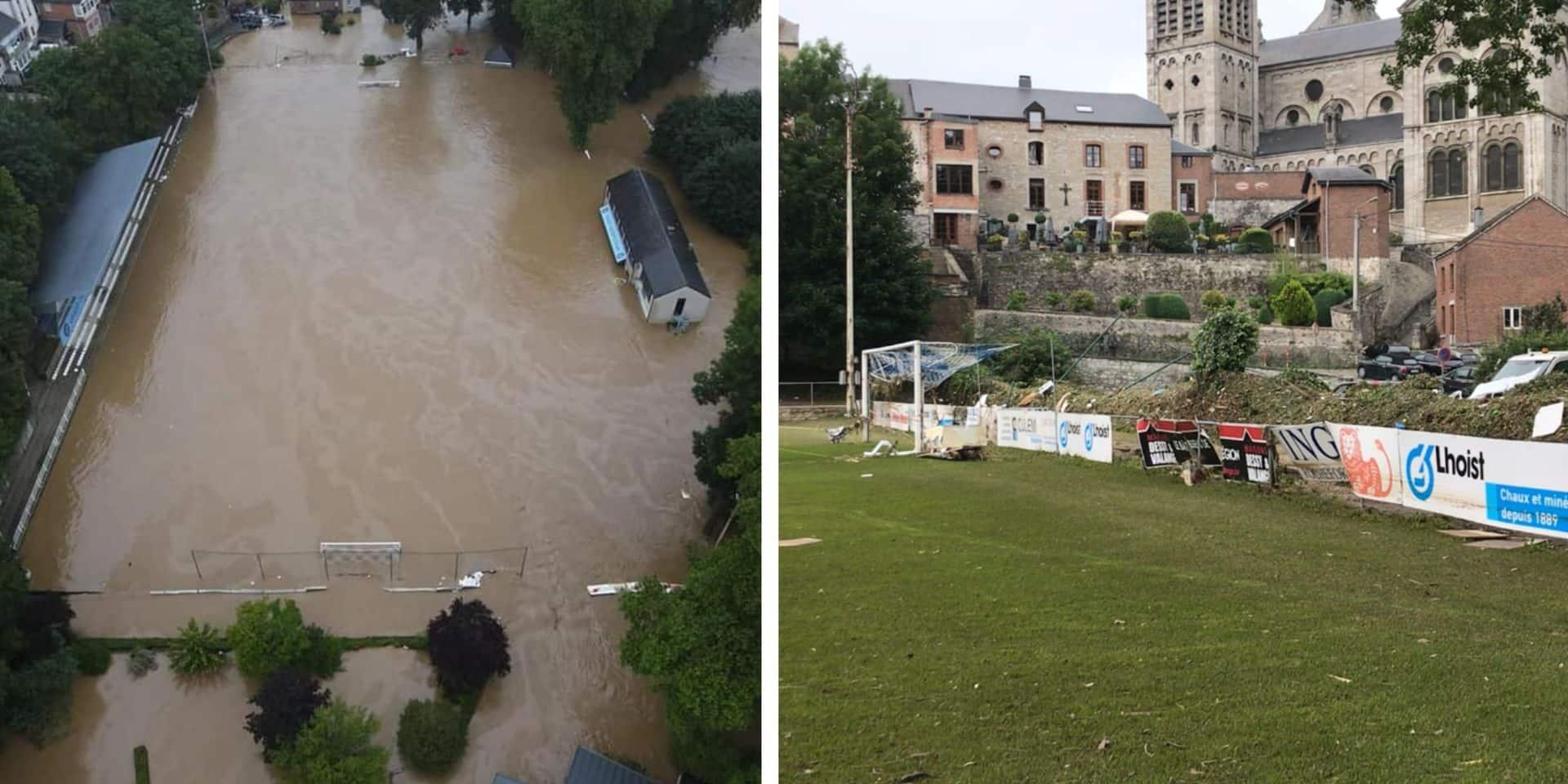 Inondations: plus de 100.000€ de dégâts pour l'Union rochefortoise