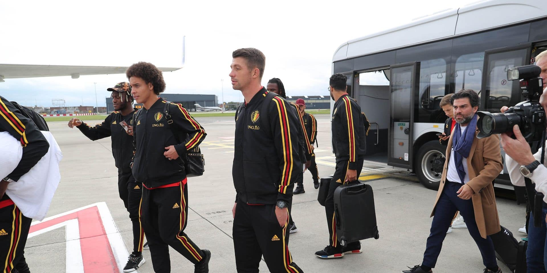 "Axel Witsel: ""On n'a dormi que 5 heures"""