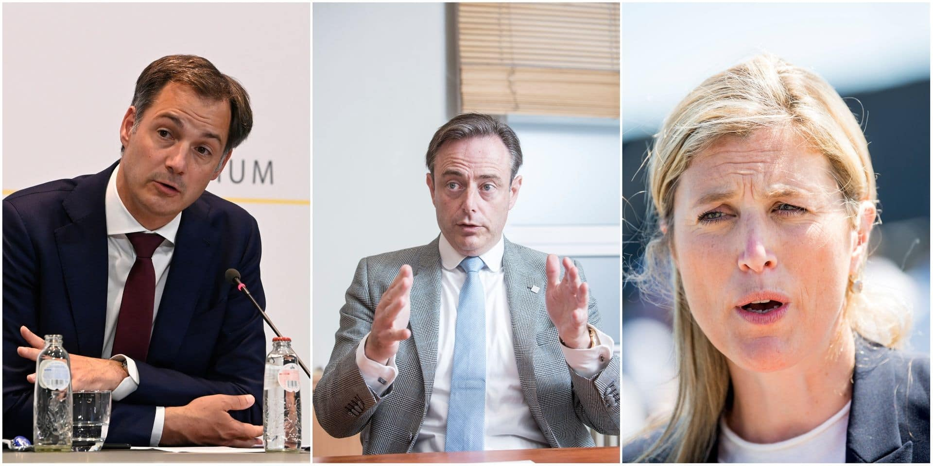 Alexander De Croo, Bart De Wever, Annelies Verlinden: notre bulletin de français des politiques flamands