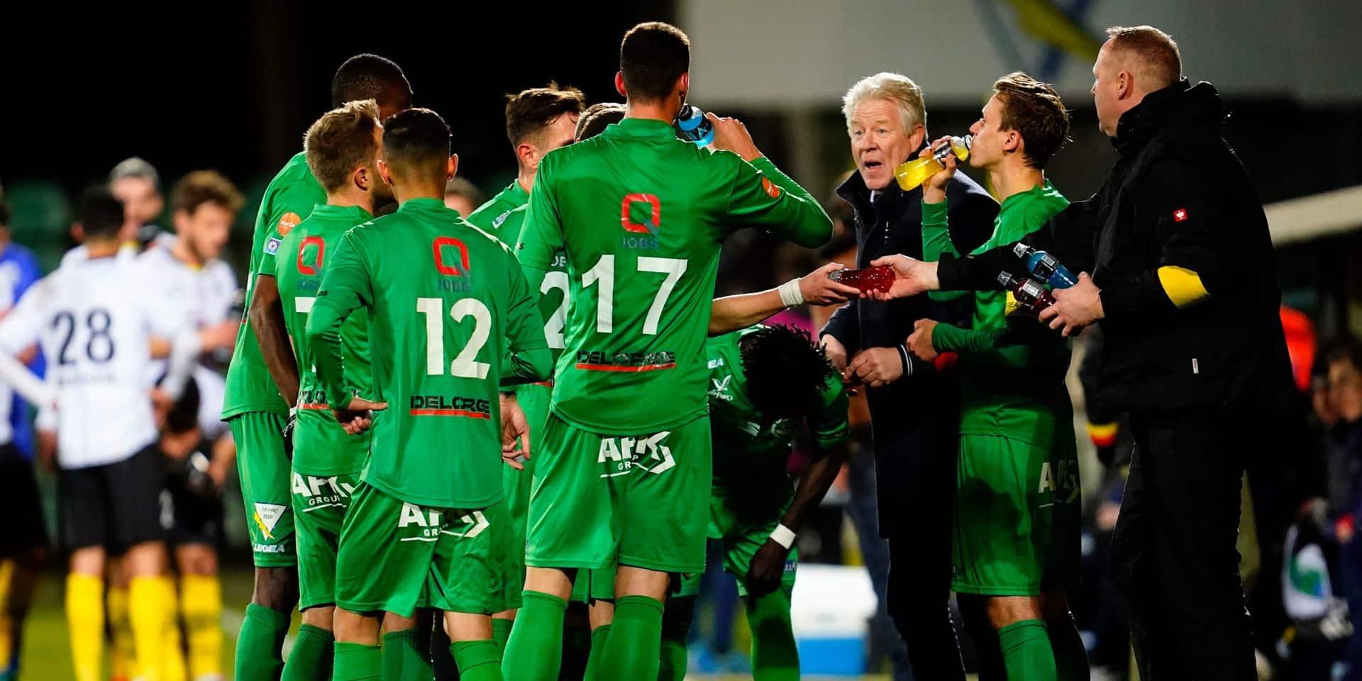 Lommel (1-0 contre Lokeren) prend la tête de la seconde phase