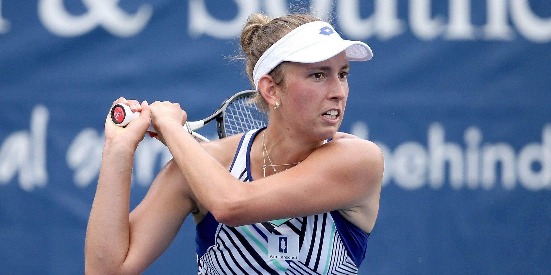 WTA Cincinnati : Elise Mertens décroche son billet pour les quarts de finale
