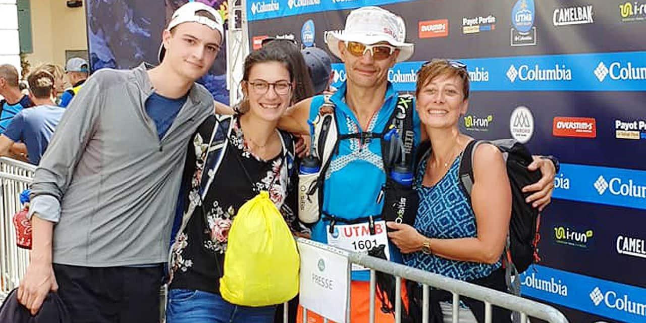 Olivier Delait: 43 heures et 7 minutes d'efforts pour boucler l'UTMB