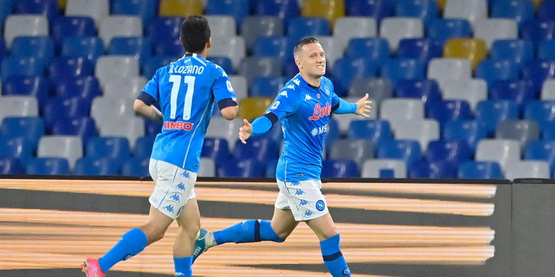 Sans-faute pour Naples qui domine Udinese (5-1), Dries Mertens a déjà rejoué